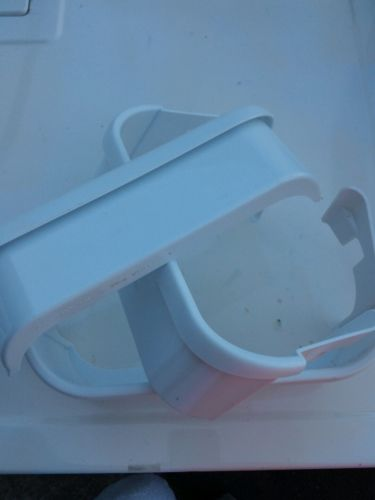 Three 3 FRIGIDAIRE FREEZER DOOR BIN- 240351602 240351600 2403516 WHITE