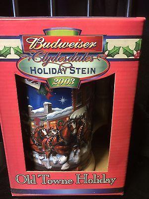 BUDWEISER 2003 HOLIDAY STEIN