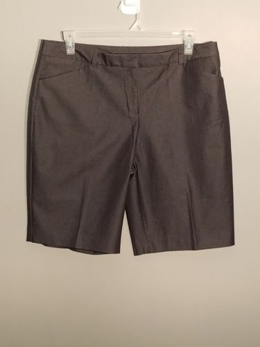attention womens bermuda shorts  size 16