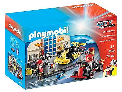 Go-Kart Garage Starter Set - Imaginative Play Set by Playmobil (6869)