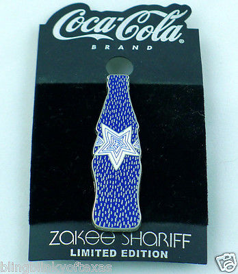 Zakee Shariff Coke Pin Limited Edition Coca Cola Brand
