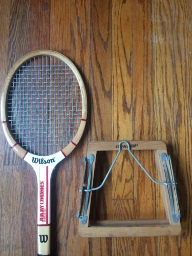 Wilson Vintage Tennis Racquet Jimmy Connors Edition