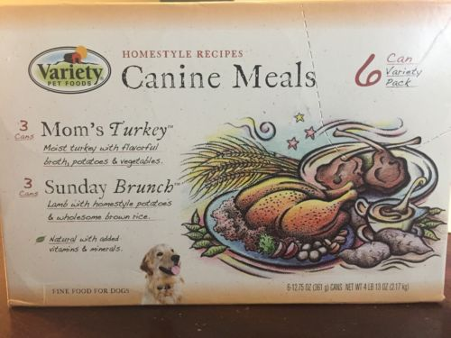 Pet Variety Petfood Canine Meals 6pk