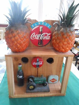 Great Collectible COCA COLA Wood Bird House-