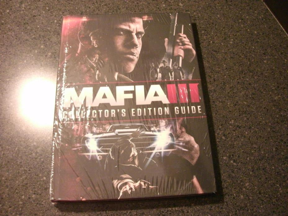 MAFIA III 3 OFFICAL COLLECTORS EDITION GUIDE (HARDCOVER) NEW**FREE SHIPPING!
