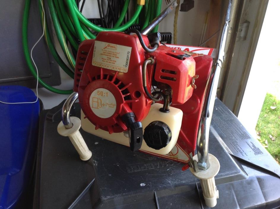 Mantis Tiller 2 Cycle Engine For Parts Or Repair