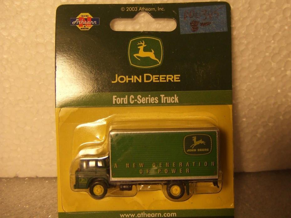 (N) JOHN DEERE Ford C-Series Panel Van 1:160 ATHERN