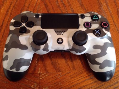 Original Sony Dual Shock PlayStation  4 Urban Camouflage Wireless Controller