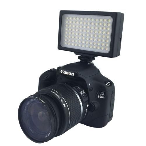 LP LED Camera Video Light,LED 1096,48 Pcs, Dimm, Panel Light with 2 Batteries
