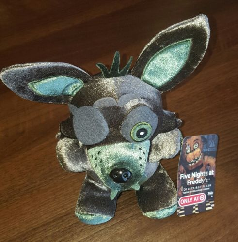 Five Nights At Freddy's Plush EXCLUSIVE Phantom Foxy FNAF Metallic Green Funko