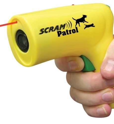 Scram Patrol Ultra Sonic Dog Red Line Animal Chaser Pet Safety Stop Dog Attacks