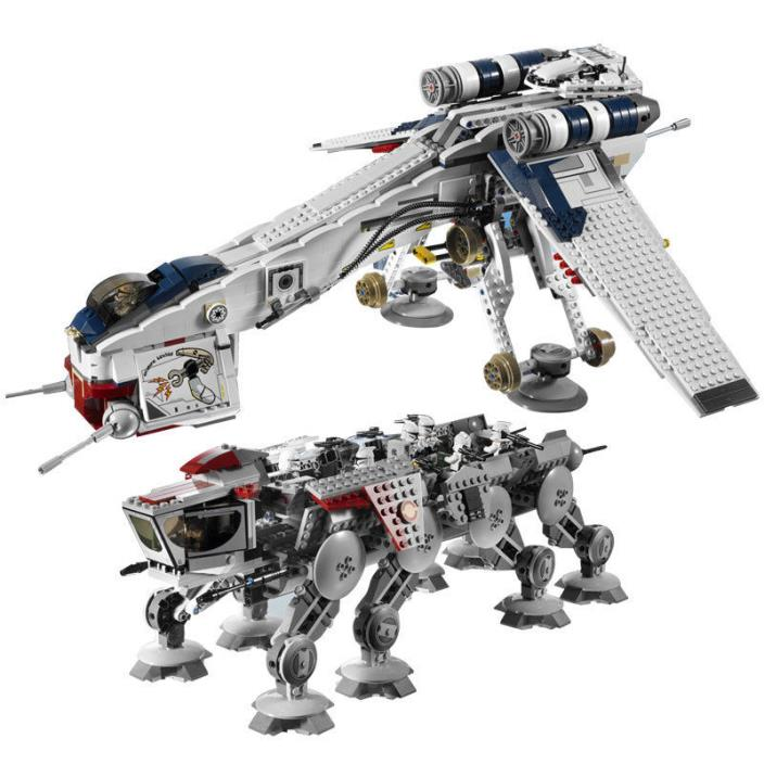 Star Wars Republic Dropship with AT-OT Walker 10195 LEGO COMPATIBLE