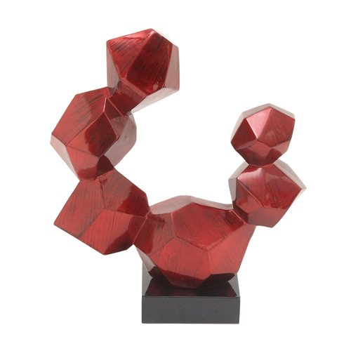 Charming PS Red Sculpture