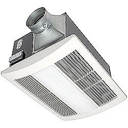 Panasonic FV-11VHL2 WhisperWarm™ 110 CFM Ceiling Mounted Fan-Light