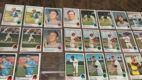 Lot of 160 Vintage Topps Baseball Cards. 1960s and 1970s. Great Condition