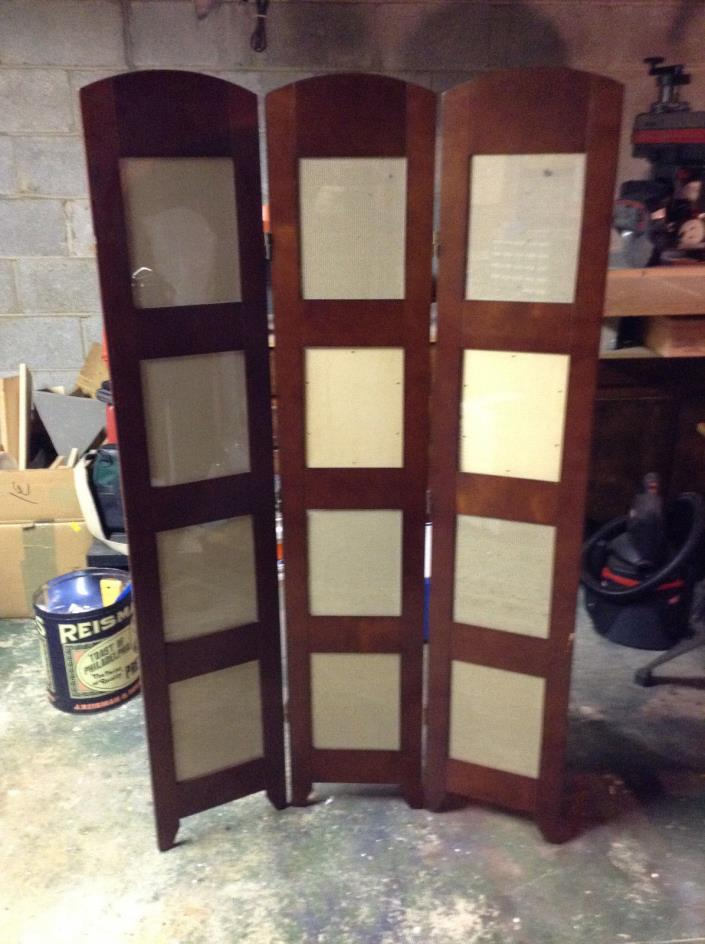 PICK UP ONLY Folding Screen Photos Photographs Frame Room Divider Picture