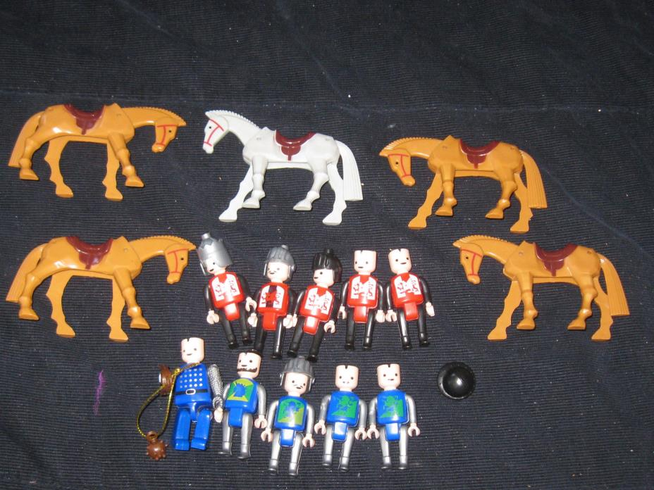 Western Figures & Horses Toy Lot