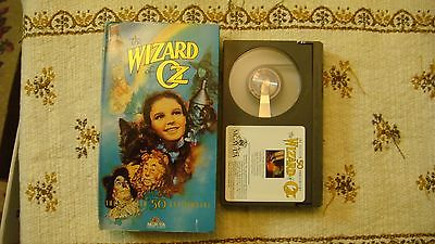 THE WIZARD OF OZ 50TH ANNIVERSARY EDITION  BETA  TAPE MGM CLASSIC