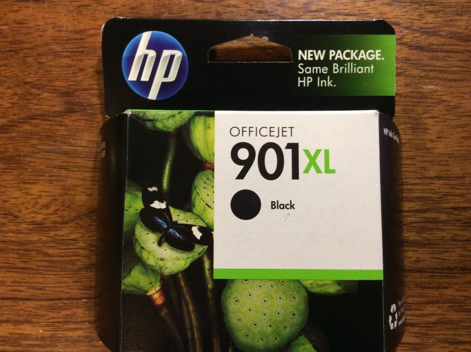 HP Ink 901XL Black Office Jet Genuine 901 XL Expired 2011 NIB SINGLE UNIT