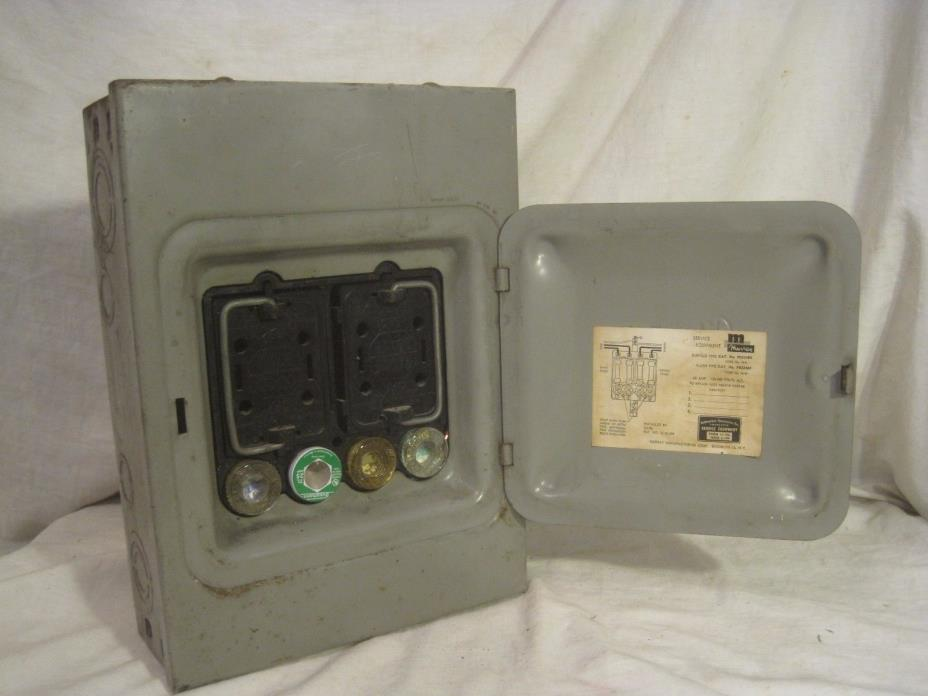 electrical breaker box for sale classifieds Fused Junction Box Electrical Schematic Fuse Box Diagram