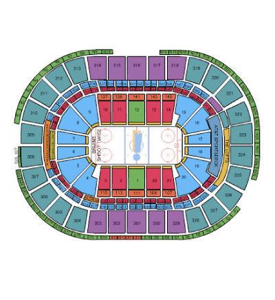 (2) Game 3 Boston Bruins vs Ottawa Senators 4/17/17 Tickets TD Garden