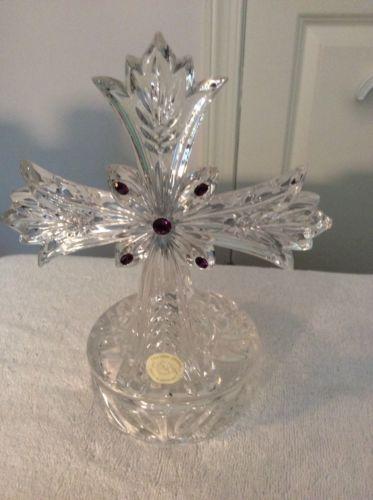 Lenox Crystal Cross Votive Candlestick