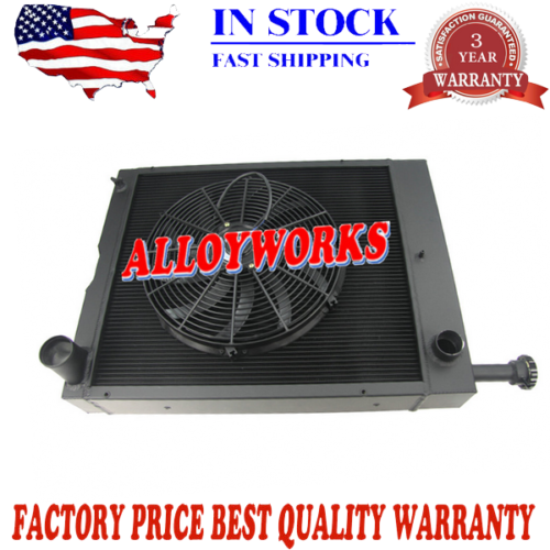 New International Tractor Radiator&16''FAN 1466 1486, 1566, 1586, HYDRO 100 186