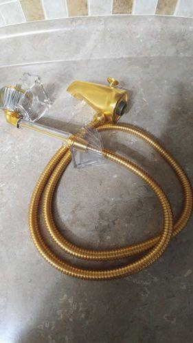 Kohler K-9772 Polished Brass  Hand Shower With Hose And Solid Brass Diverter