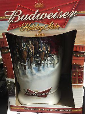Budweiser Holiday Stein 2006