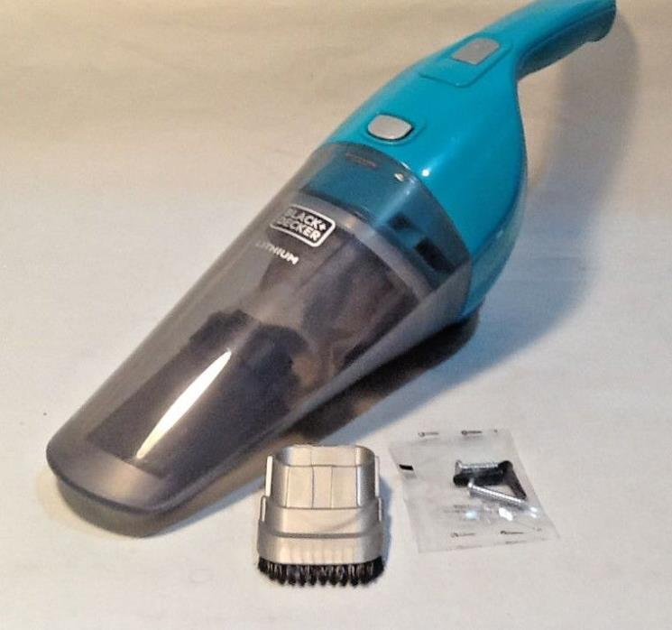 Black+Decker Compact Lithium Hand Vac Kit - Cordless