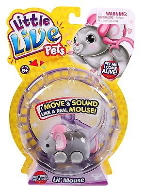 Little Live Pets Lil' Mouse - Smooch NEW