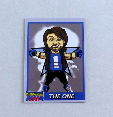 AJ Styles Wrestling Trading Card Rare Bonus Pro Wrestling Loot WWE Exclusive