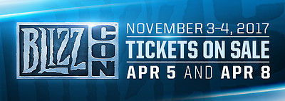 Blizzcon 2017 Ticket