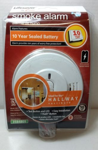 Kidde i9010 Smoke Alarm 10 Year Sealed Lithium Battery with Memory & Smart Hush
