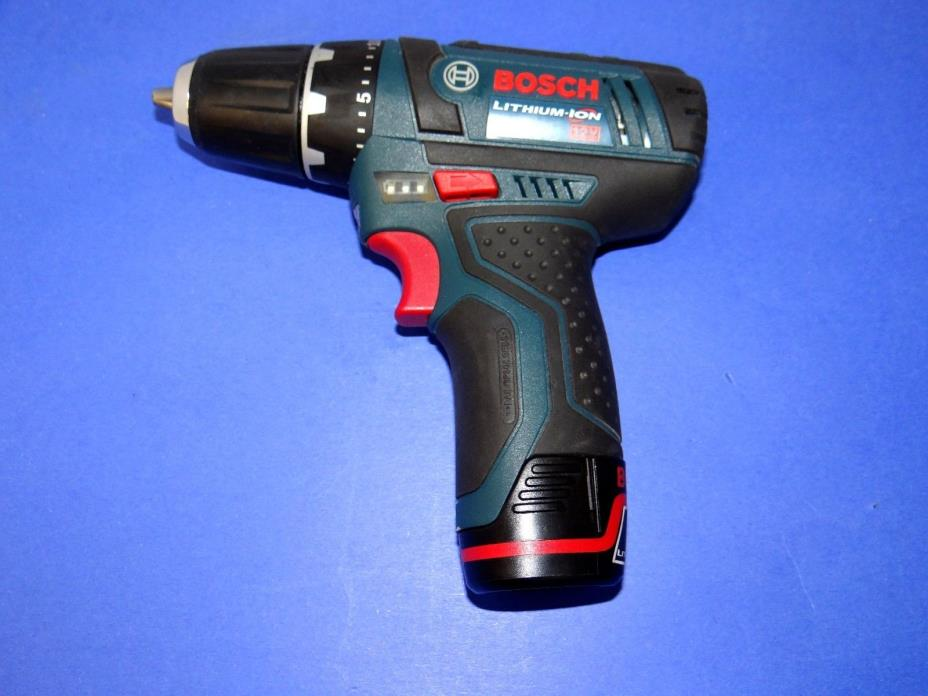 Bosch PS31 12-Volt Max Lithium-Ion 3/8in 2-Speed Drill/Driver & 12V Battery