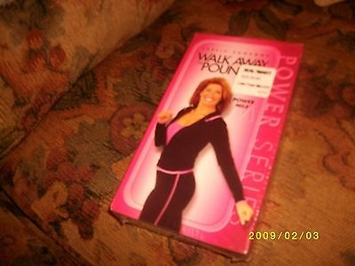Leslie Sansone Walk Away the Pounds - Power Mile [VHS] by  BRAND NEW