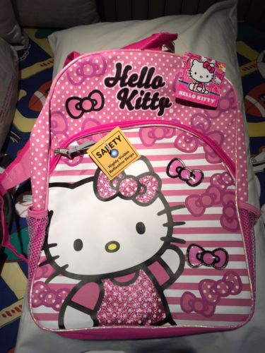 hello kitty full sized backpack plus bonus money purse