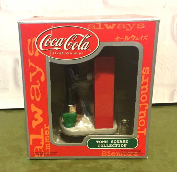 Coca Cola Town Square Collection Shopper at Vending Machine