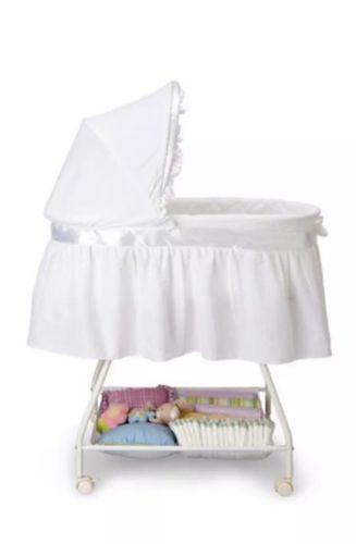 Delta Children's Products Sweet Beginnings Bassinet, White