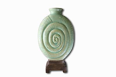 Home Goods Decorative Green Ceramic Vase