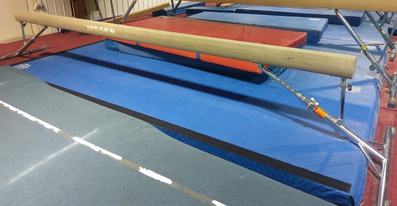 Nissen Gymnastics adjustable 16ft Balance Beam