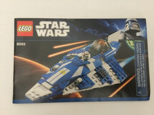 LEGO 8093 Star Wars Instruction Book  - MANUAL ONLY