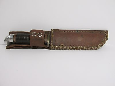 Striped Handled Bowie Knife