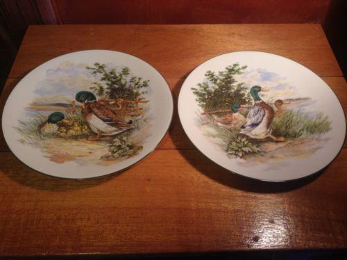 Western Germany Decorative Pottery JKW Duck Plates