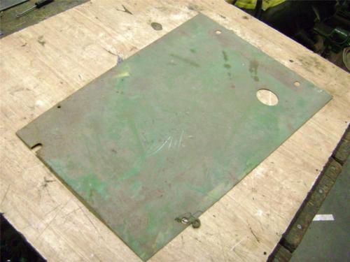 John Deere 730 LP Gas Tank Bottom heat shield