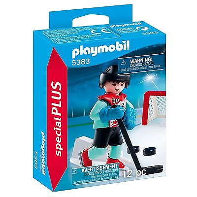Ice Hockey Practice (Special Plus) - Imaginative Play Set by Playmobil (5383)
