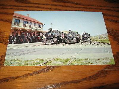 Pennsylvania East Broad Top Railroad Rockhill Furnace Locomotive Train Engines