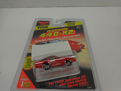 TYCO #9247 Magnum 440-X2 Electric Racing Red Corvette new in sealed package