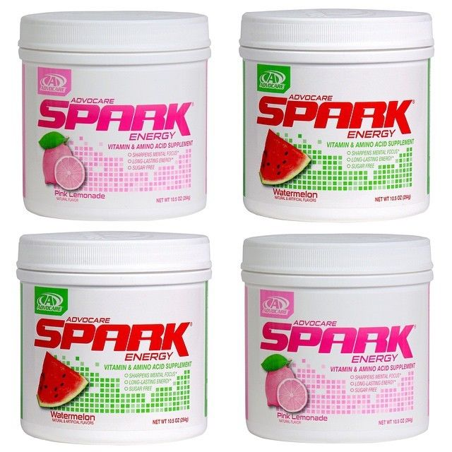 Advocare Spark~ 2  Canisters~  You Choose The Flavor~ Free Shipping!