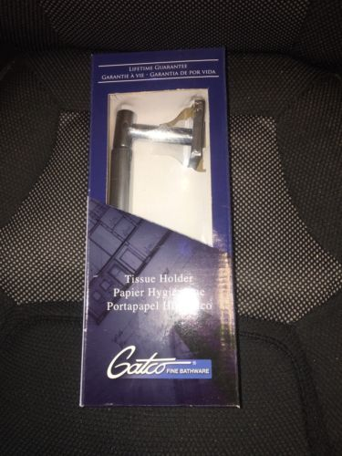 Gatco 4053A Elevate, Standard Tissue Holder, Chrome